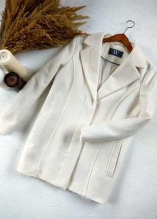 Шикарное шерстяное пальто от bhs