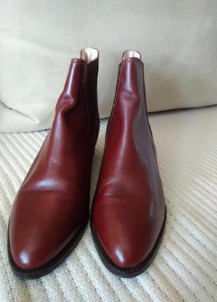 Ботинки челси. bally. натуральная кожа