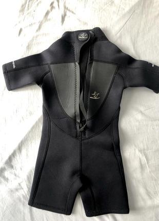 Детский плавательный костюм, гидрокостюм на ребёнка на 2-4 года