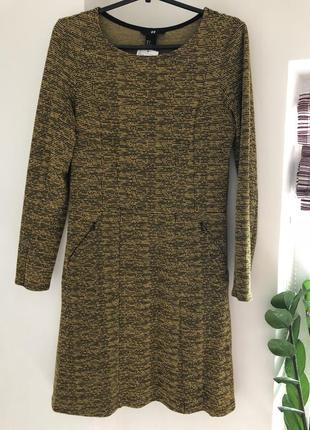 Трикотажное платье h&m для холодной поры