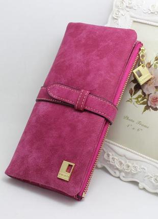Женское портмоне baellerry friend ( розовый)