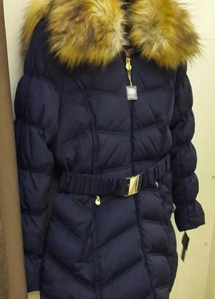 Новая американская зимняя женская куртка пуховик laundry. оригинал!