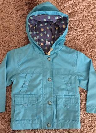Куртка ветровка для мальчика 80 см 1-1,5 л cool club