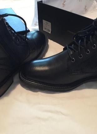 Мужские кожаные ботинки/ чоловічі шкіряні ботінки