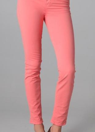 Розовые джинсы скини supersoft