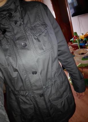 Брендовая парка куртка