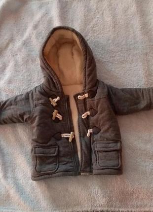 Очень теплое и мягкое зимнее пальто/длинная куртка