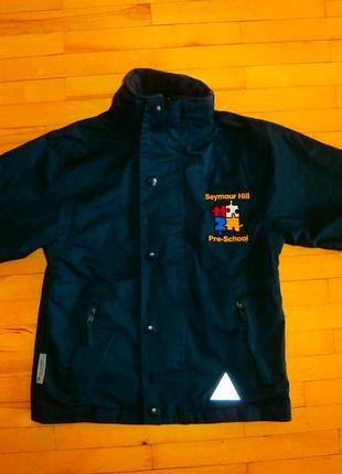 Двохстороння куртка  на осінь 110р.