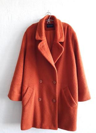Стильное шерстяное пальтишко с небольшим ворсом , бренда alexon, подойдет на 48,50,52 р.