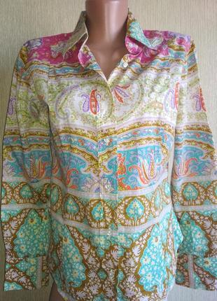 Шикарная рубашка люкс бренда,р.34-36