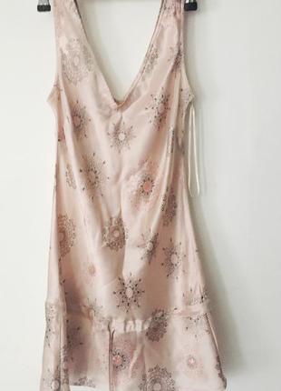 Блуза из натурального шелка в бельевом стиле