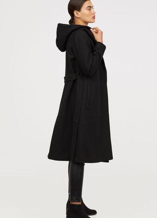 Пальто из смесовой шерсти р 44