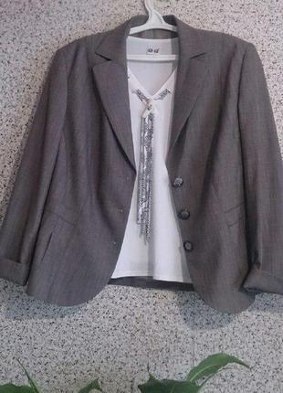 Шикарный статусный пиджак жакет блейзер gerry weber