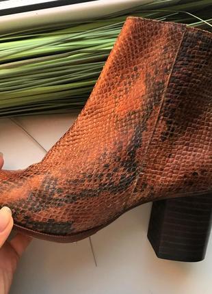 Осенние весенние ботинки hallhuber. натуральная кожа.