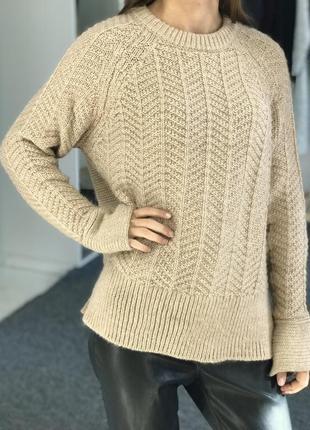 Теплый свитер h&m 36
