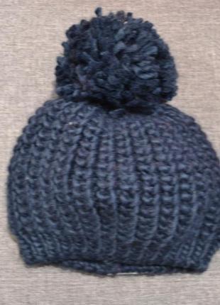 Тёплая шапка mothercare на мальчика 6-12 мес