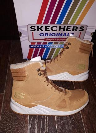 Зимние термо ботинкиskechers 9