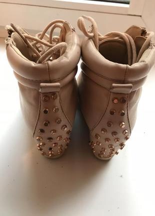 Bershka ботинки
