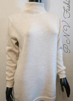Супер качественный свитер натуральная шерсть