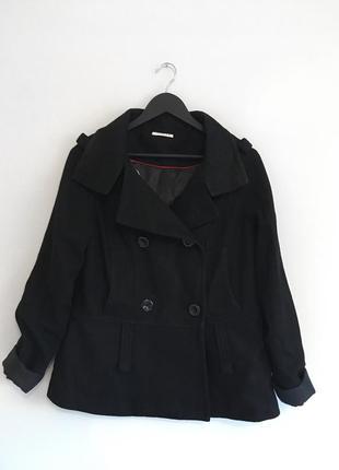 Шерстяное пальто yessica (40-l)