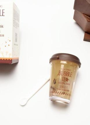 Питающая ночная маска с экстрактом кокоса и гиалуроновой кислотой корейская косметика