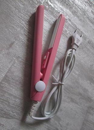 Мини утюжок для выпрямления волос