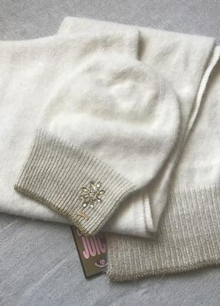 Шапка и шарф juicy couture