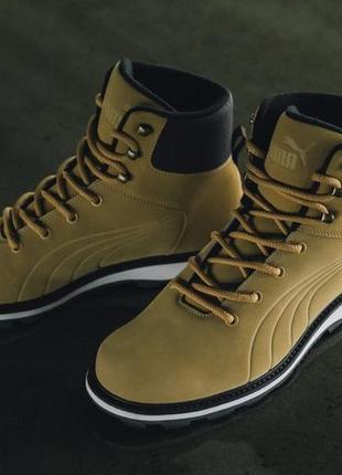 Утепленные ботинки puma desierto fun, 40.5 размер