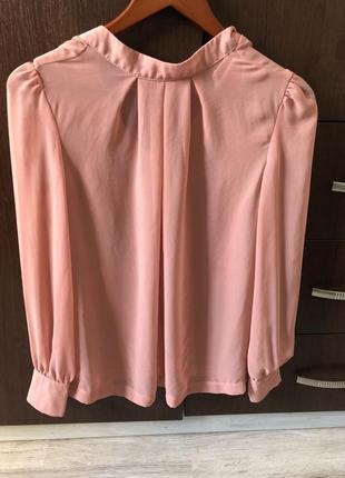 Нежная блузка цвет пудры,new look