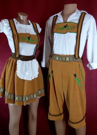 Комплект баварских костюмов