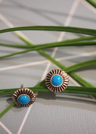 Серьги-гвоздики, серебряны сережки от asos