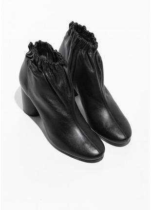 & other stories кожаные ботильоны ботинки 36-41