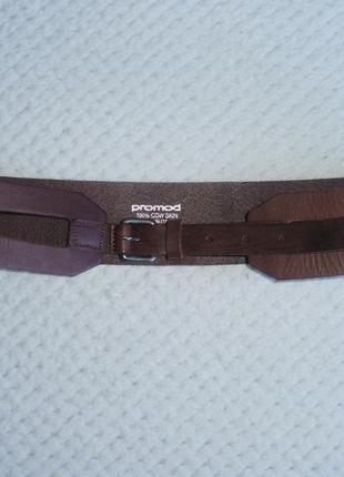 Promod (italy) кожаный ремень (95)