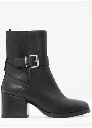 Cos кожаные ботинки полусапожки 36-40