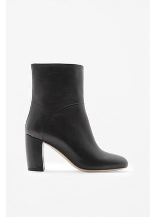 Cos кожаные полусапожки ботинки 39