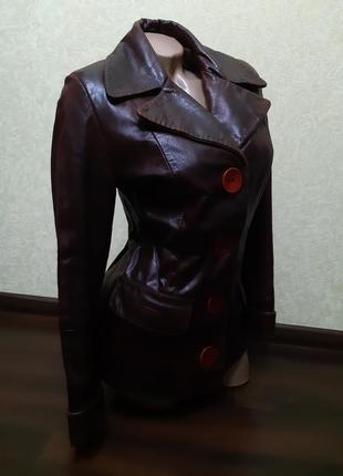 Кожаная куртка torras,  пиджак