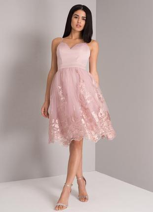 Роскошное платье миди . вечернее платье. коктейльное платье