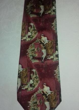 Итальянский галстук из натурального шелка