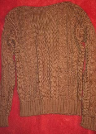 Свитер в косы,вязаный свитерок,кофта