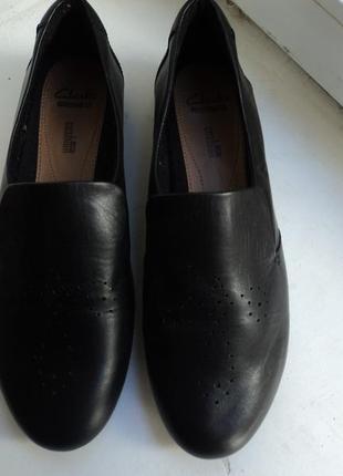 Стильные туфли  clarks р 41