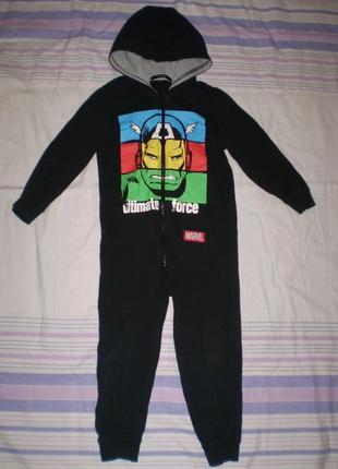 "Человечек слип пижама  ""george"" на рост 98-104 см, 3-4 г без начёса"