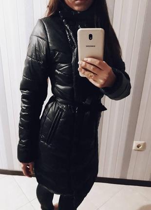 Дутая зимняя курточка косуха (куртка 99d3600952cf1