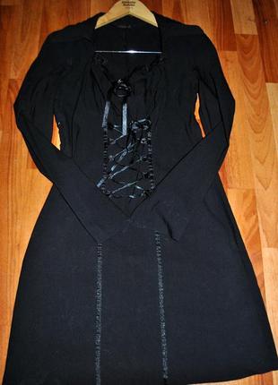 Шикарное коктейльное платье корсет ets element's оригинал р.44-46 указаны замеры