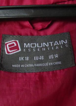 Мембранная не продуваемая и не промокаемая куртка ветровка mountain warehouse3