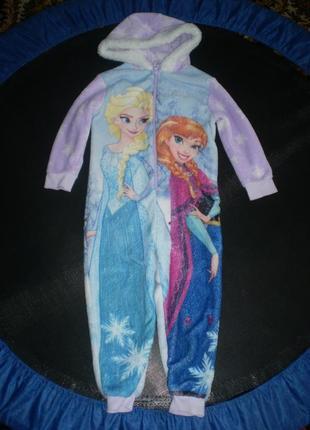 Махровый человечек ромпер слип пижама disney 3-4г. 98-104 см