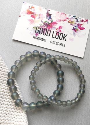 Набор браслетов, браслет из натурального камня