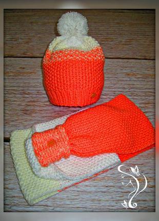 Набор - шапка + снуд в 2 оборота - hand made