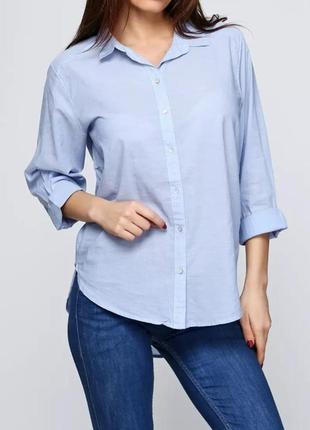 Хлопковая блуза, рубашка от h&m. 100% хлопок!