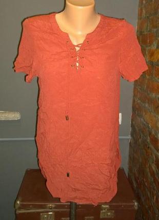 Топ блуза кофточка со шнуровкой new look