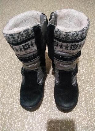 Зимние сапоги капика/флоаре 32 размер